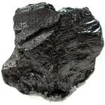 A brick of graphite.