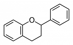 Flavan, the basic chemical structure of flavonoids