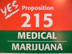 A flyer from 1996 to promote Prop. 215.