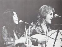 John Lennon & Yoko Ono at the John Sinclair Freedom Rally.