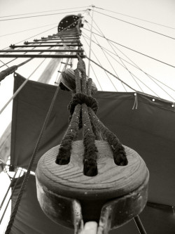 Over the course of many centuries in Spain, shipping equipment, such as ropes, nets, sails and cables and others used to be made from hemp owing to its resistance. (©Arnaldo Gutiérrez)