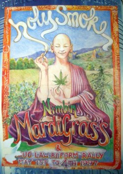 MardiGrass has been celebrated in Nimbin on the first weekend of May since 1993 (CC.m.a.r.c.)