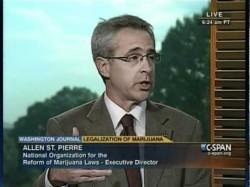 Allen St. Pierre, actual director ejecutivo de NORML (stash.normal.org)