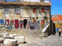 A drug den on the outskirts of Lisbon (Jo Campos)