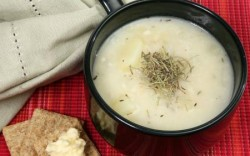 A creamy soup made with hemp seeds is still eaten in parts of Poland on Christmas Eve (Stephanski)