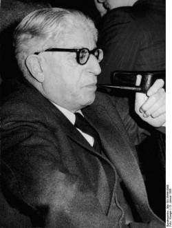 El filósofo Ernst Bloch, 1885-1977