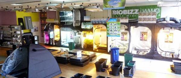 Las tiendas de cultivo han modificado sus acciones. La conexión con el cultivo de cannabis ha sido totalmente eliminada.