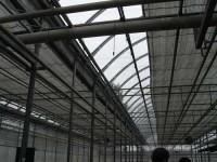 . Los grandes espacios de cultivo de interior pueden equiparse con sistemas de cortinas automatizadas que bloquean toda la luz en determinados momentos (© umass.edu)