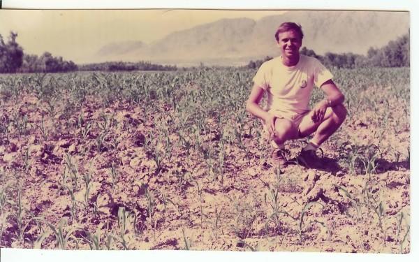 Ben Dronkers en Afganistán, en los años 70