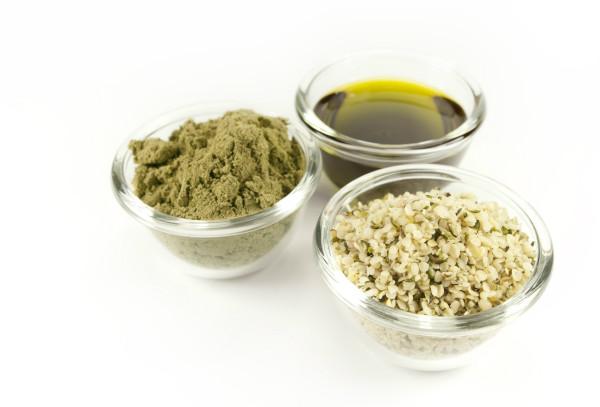 Aceite de cáñamo y semillas de cáñamo