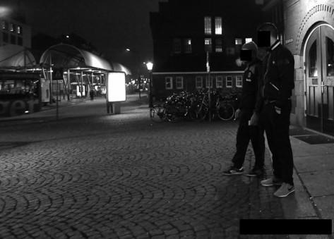 dealers dans les rues de Maastricht