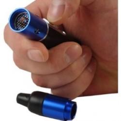 Un vaporiseur portatif fonctionne de manière très comparable à un inhalateur, permettant aux composés actifs de pénétrer profondément dans les poumons