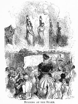 Les périodes d'inquisitions et de persécutions que connut l'Europe médiévale entraînèrent la perte de la plupart du savoir traditionnel ayant trait au chanvre (© CircaSassy)