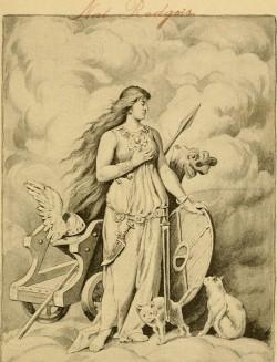 Dans le monde germanique, la déesse Freyja était souvent associée au culte du chanvre