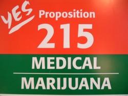 Un flyer datant de 1996 afin de promouvoir la Proposition 215.
