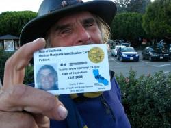 passeport servant à prouver qu'une personne est autorisée à consommer du cannabis médicinal.