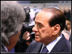 Silvio Berlusconi, sous la direction duquel le gouvernement italien a adopté des lois particulièrement restrictives (© Samuele Silva - Reportage).
