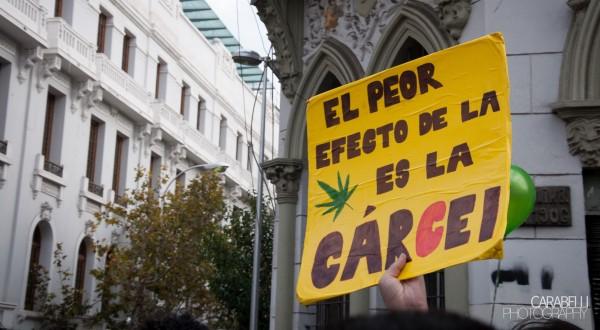 L'interdiction qui pèse sur la marijuana est la cause de peines d'emprisonnement inutiles ou excessives (CC. Javier Carabelli)