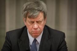 Minister Ivo Opstelten van Justitie die in 2010 de wietpas introduceerde.