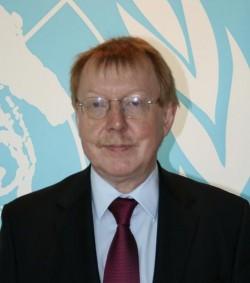 Raymond Yans, President van de INCB