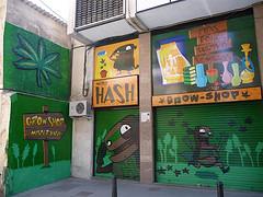 Elke stad in Spanje is ruimschoots voorzien van growshops en headshops (ShortyNZ2000)