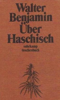omslag van Benjamin's boek Über Haschisch