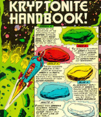Door blootstelling aan groen kryptoniet verliest Superman zijn kracht; langdurige blootstelling kan tot de dood leiden (mordicai)