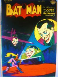 Batman samen met Joker, zijn tegenstander en superschurk bij uitstek (Jimmy)