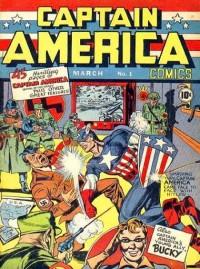In het eerste nummer van Captain America deelt de held een vuistslag uit aan Adolf Hitler zelf (Philipp Lenssen)
