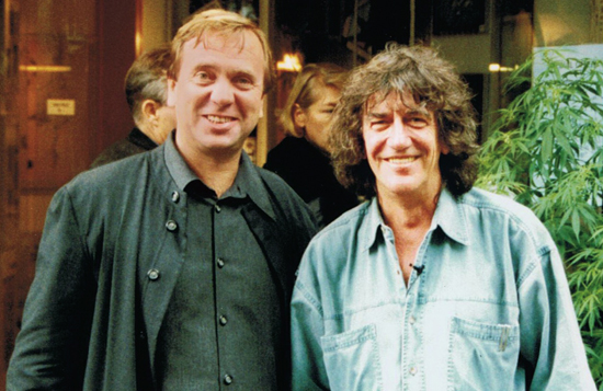 Ben Dronkers & Howard Marks - Sensi Seeds Blog